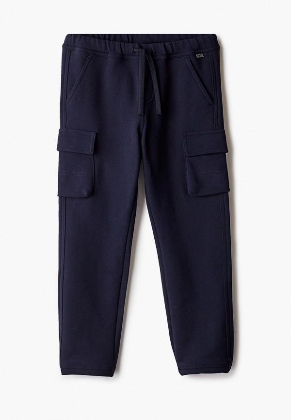 спортивные брюки il gufo для мальчика, синие