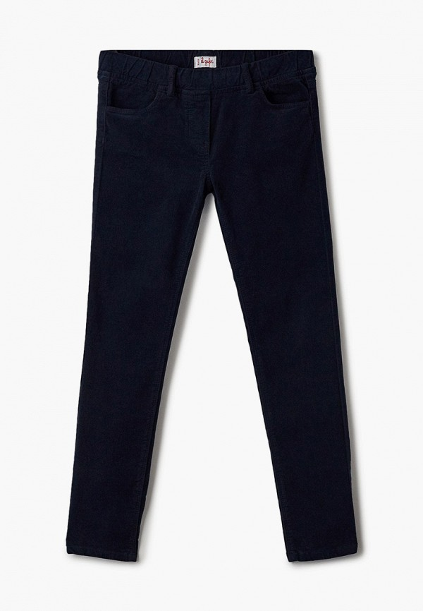 брюки il gufo для девочки, синие