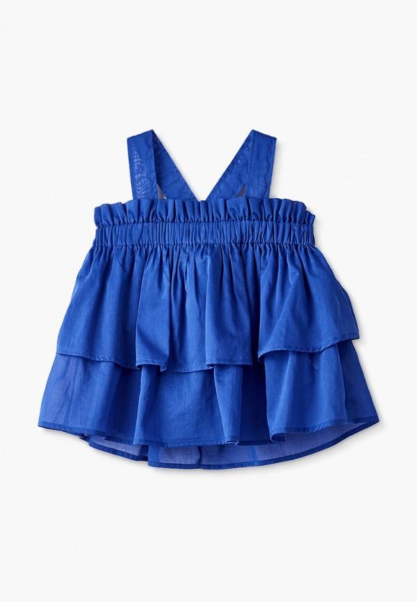 юбка il gufo для девочки, синяя
