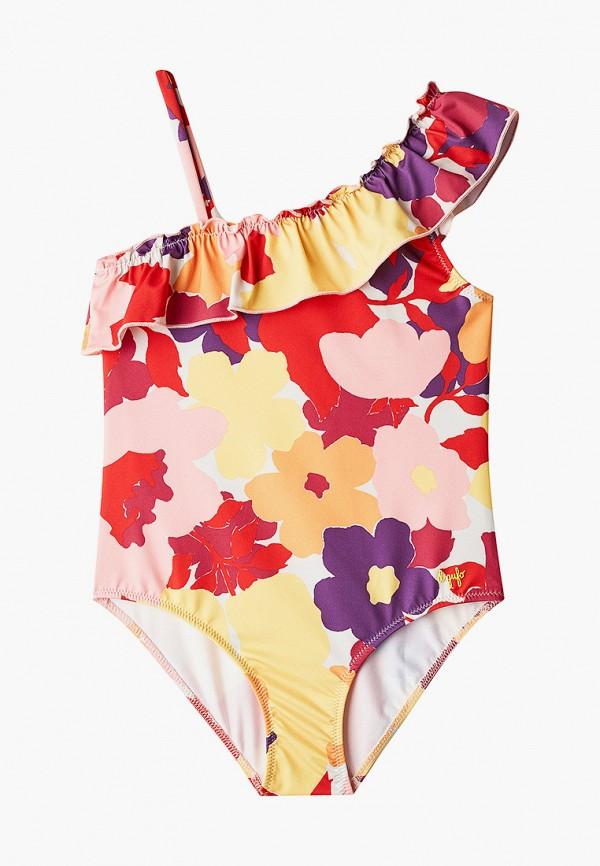 купальник il gufo для девочки, разноцветный