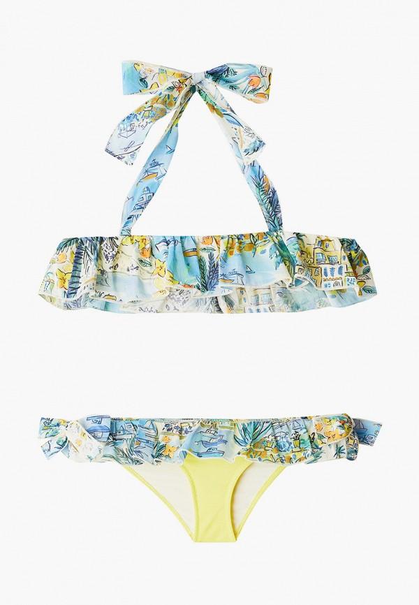 купальник il gufo для девочки, желтый