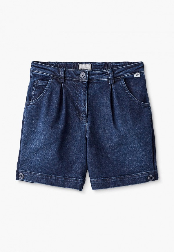 шорты il gufo для девочки, синие