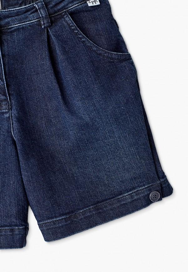 Шорты для девочки джинсовые Il Gufo P21PB085J0026 Фото 3