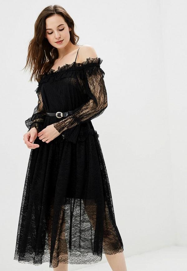 Платье Imperial Imperial IM004EWBLEU5 куртка кожаная imperial imperial im004ewciqv7