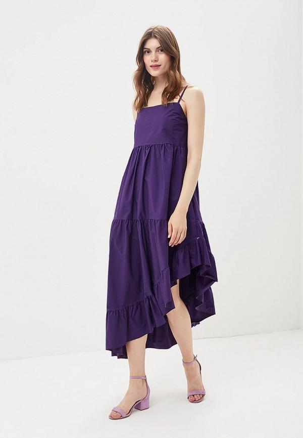 Платье Imperial Imperial IM004EWCBKD6 plunge criss cross backless tie dye swimsuit