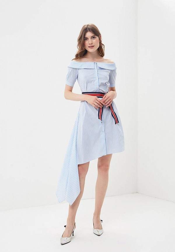 Фото 2 - женское платье Imperial голубого цвета