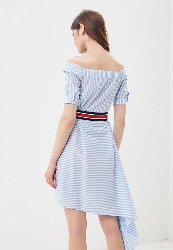 Фото 3 - женское платье Imperial голубого цвета