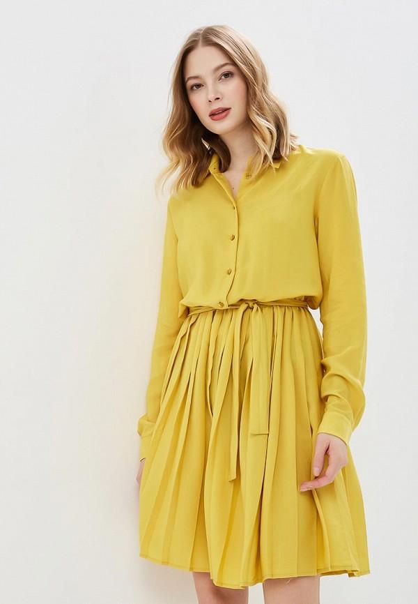 женское платье imperial, желтое