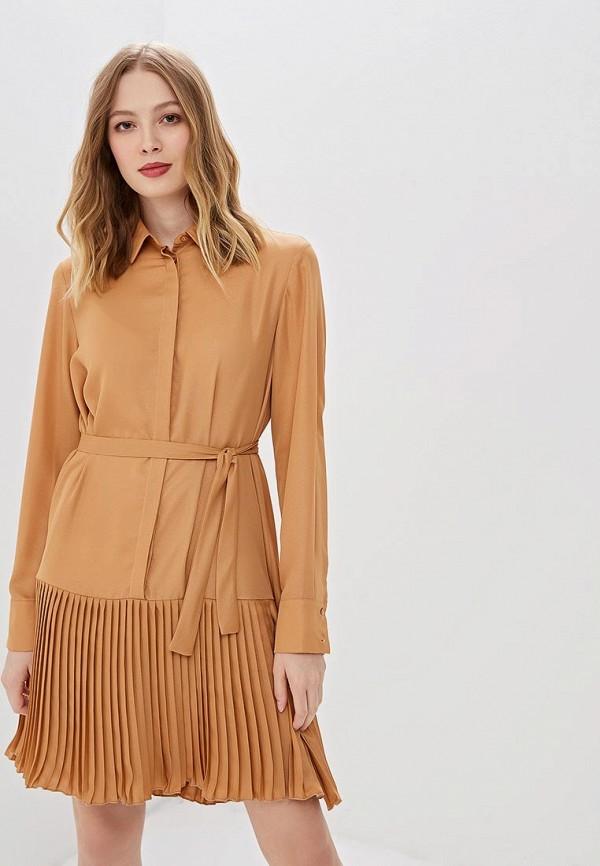 женское платье imperial, оранжевое