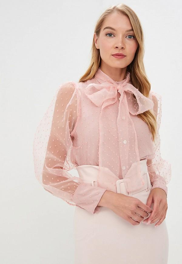 женская блузка imperial, розовая