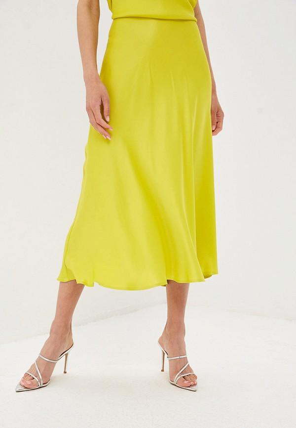 женская прямые юбка imperial, зеленая