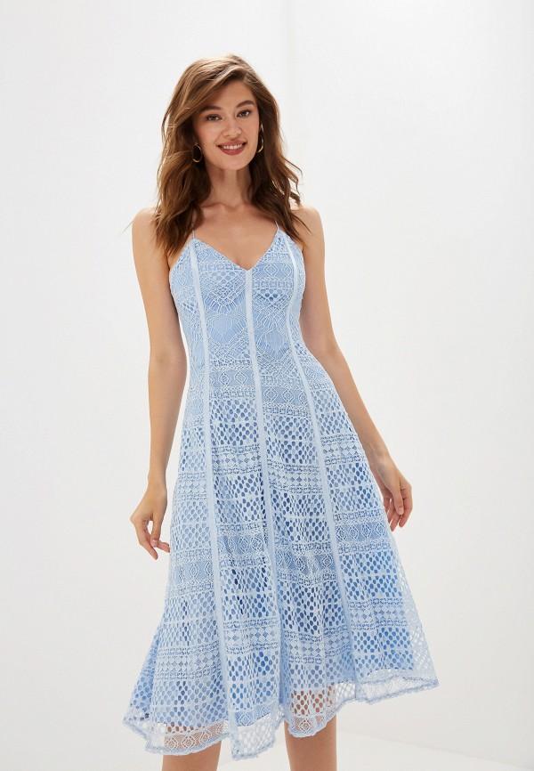 женское платье imperial, голубое