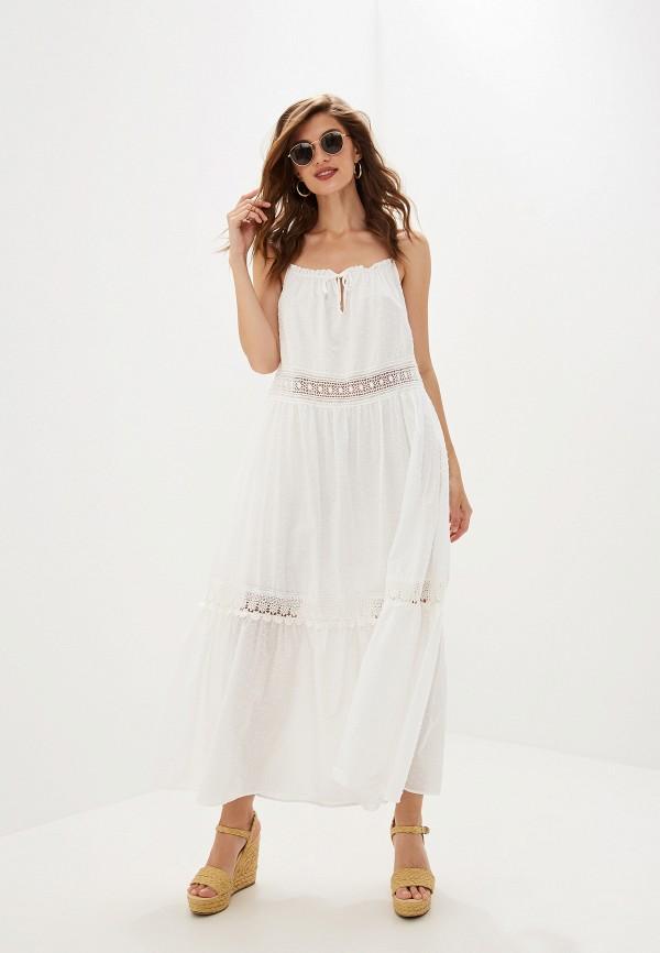 женское повседневные платье imperial, белое