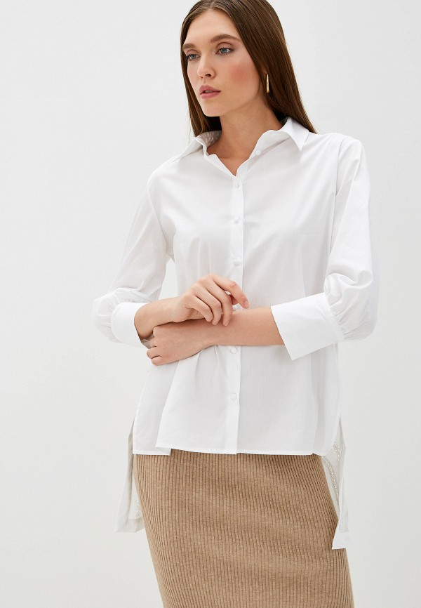 женская рубашка imperial, белая