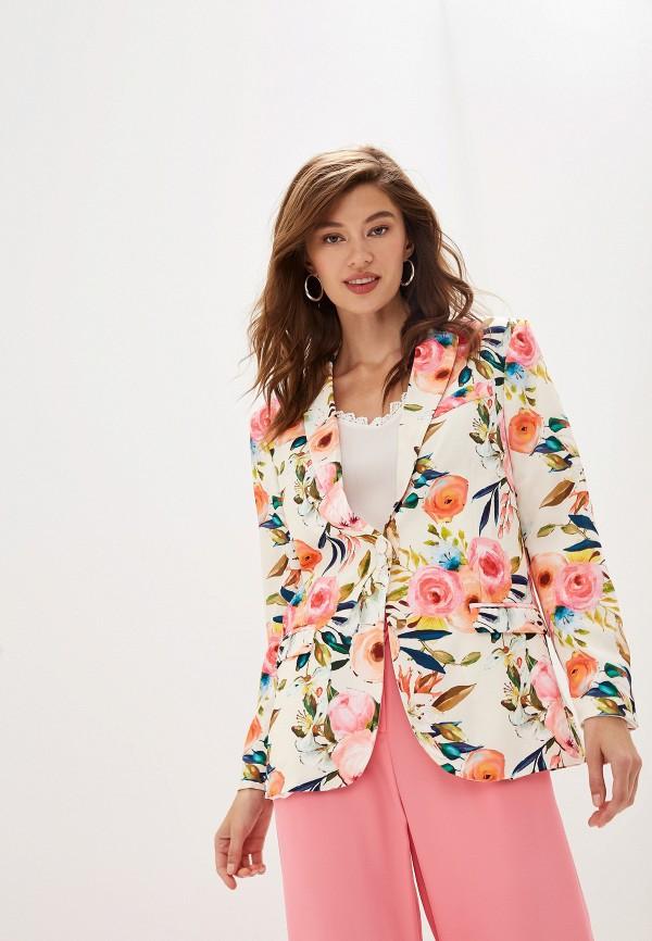 женский пиджак imperial, разноцветный
