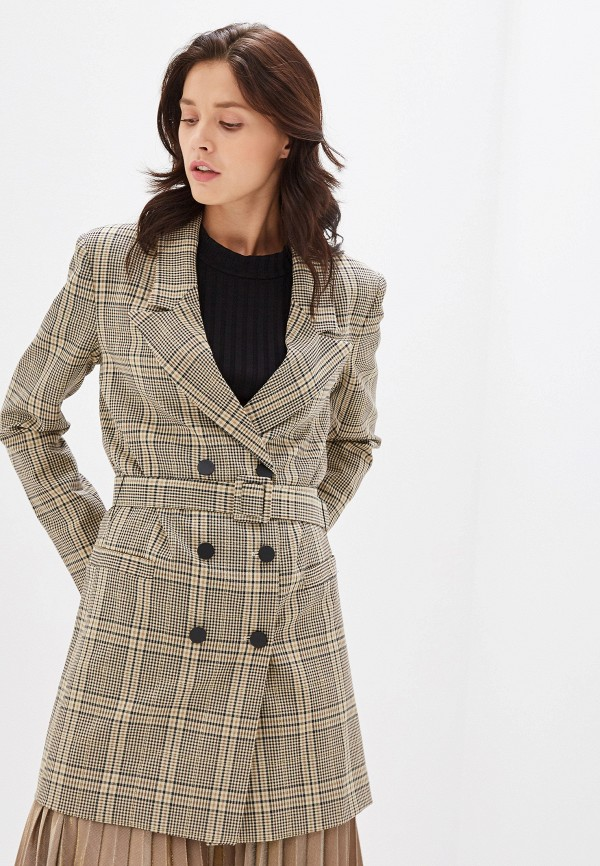 женский пиджак imperial, коричневый