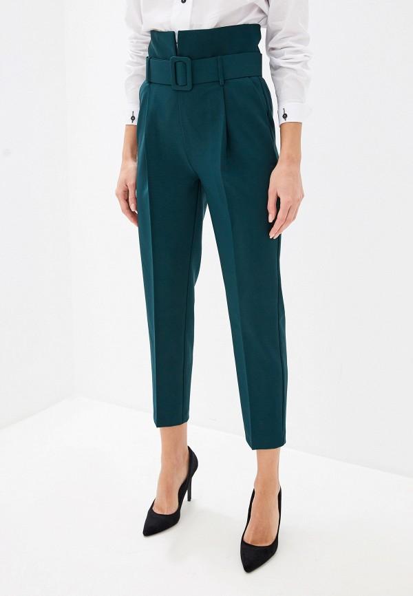 женские повседневные брюки imperial, зеленые