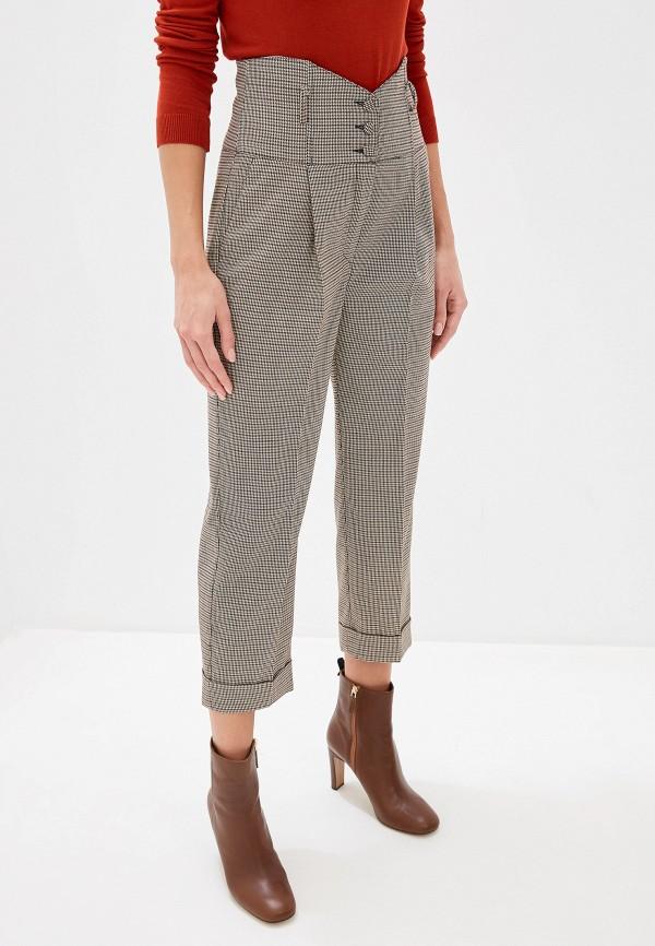 женские повседневные брюки imperial, коричневые