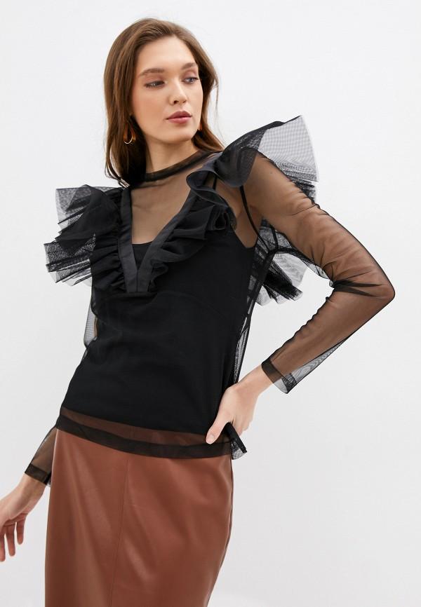 женская блузка imperial, черная