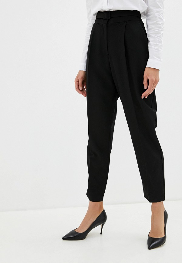 женские классические брюки imperial, черные