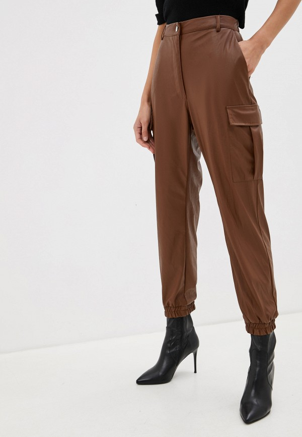 женские брюки imperial, коричневые