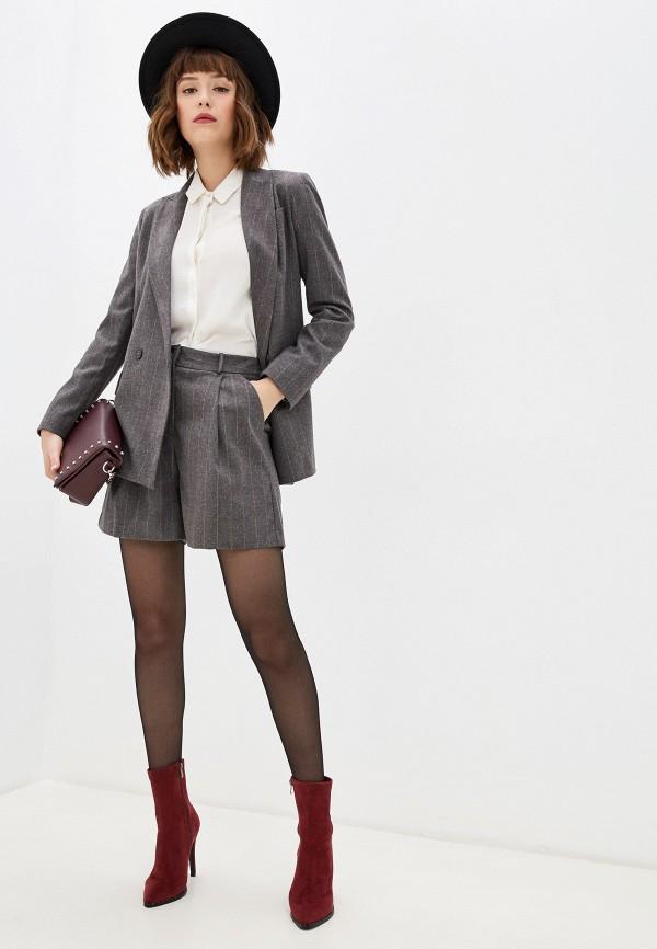женский костюм imperial, серый