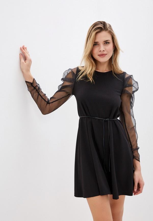 женское вечерние платье imperial, черное