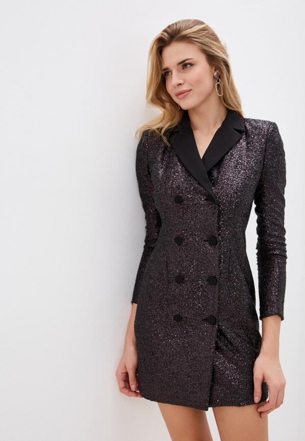 женское вечерние платье imperial, фиолетовое