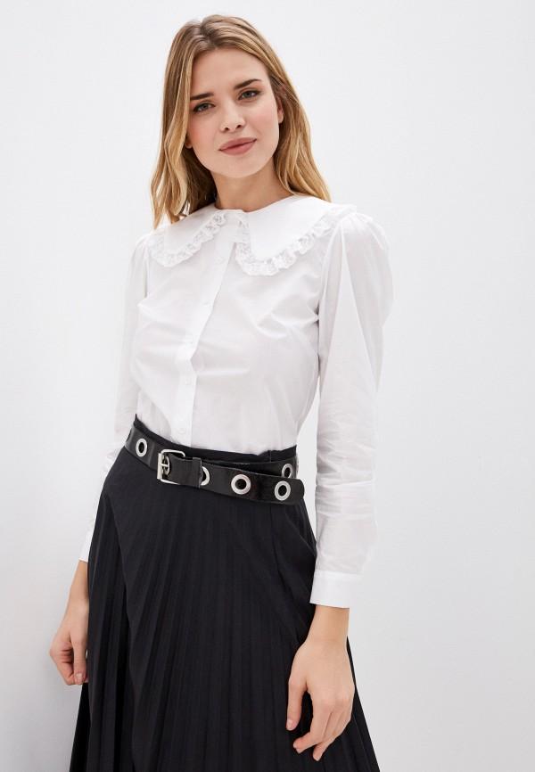 женская рубашка с длинным рукавом imperial, белая
