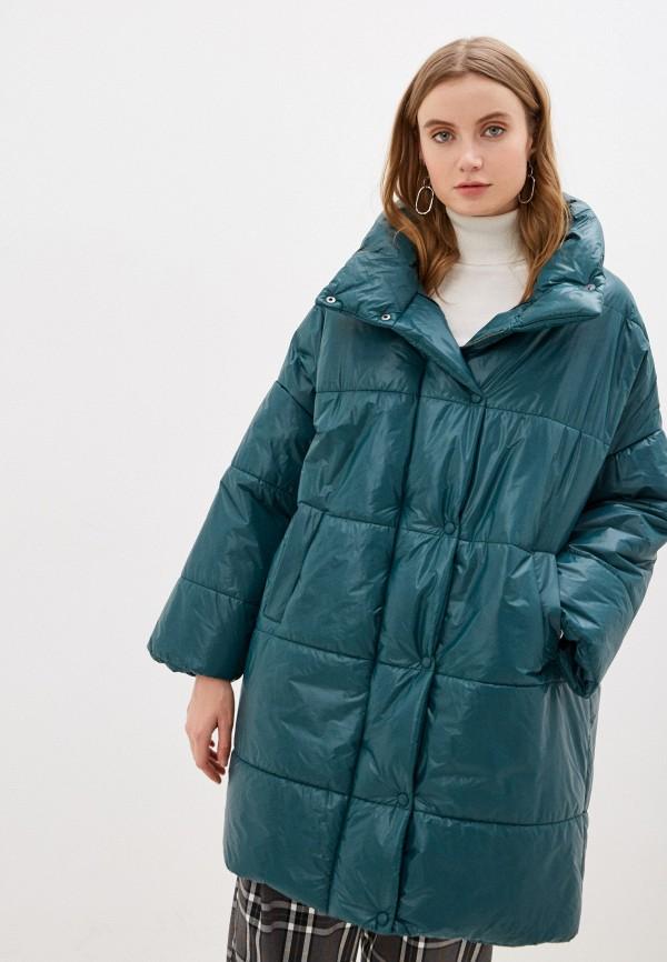 женская куртка imperial, зеленая
