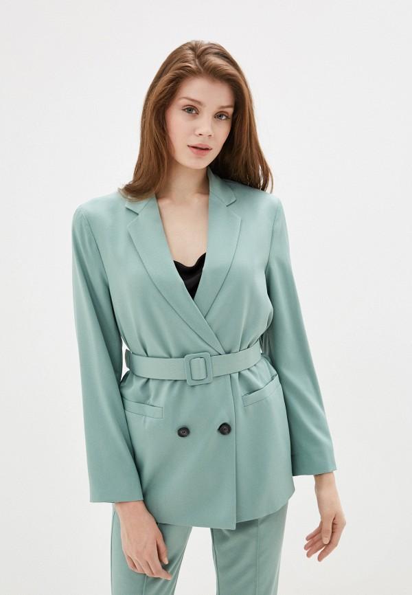 женский пиджак imperial, зеленый