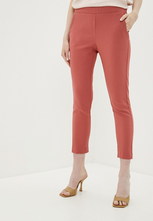 женские брюки imperial, розовые