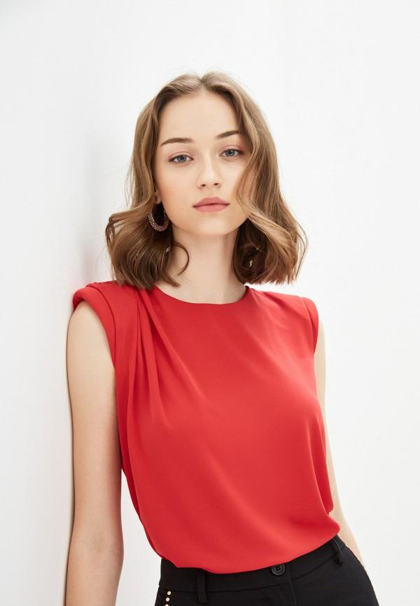 женская блузка imperial, красная