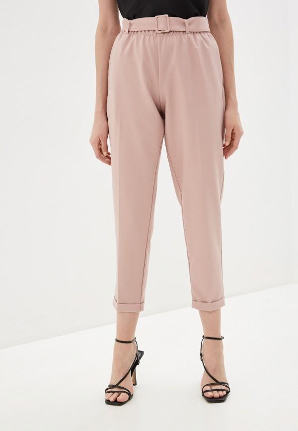 женские повседневные брюки imperial, розовые