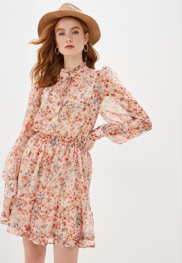 женское повседневные платье imperial, розовое