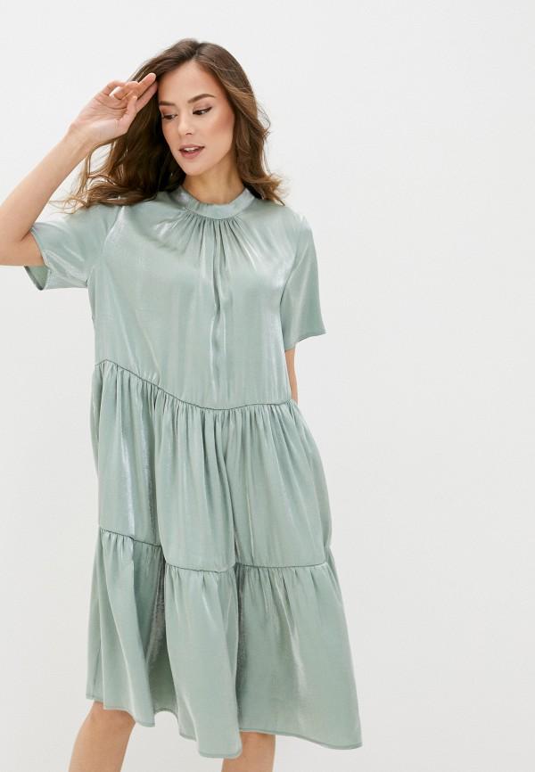 женское вечерние платье imperial, хаки