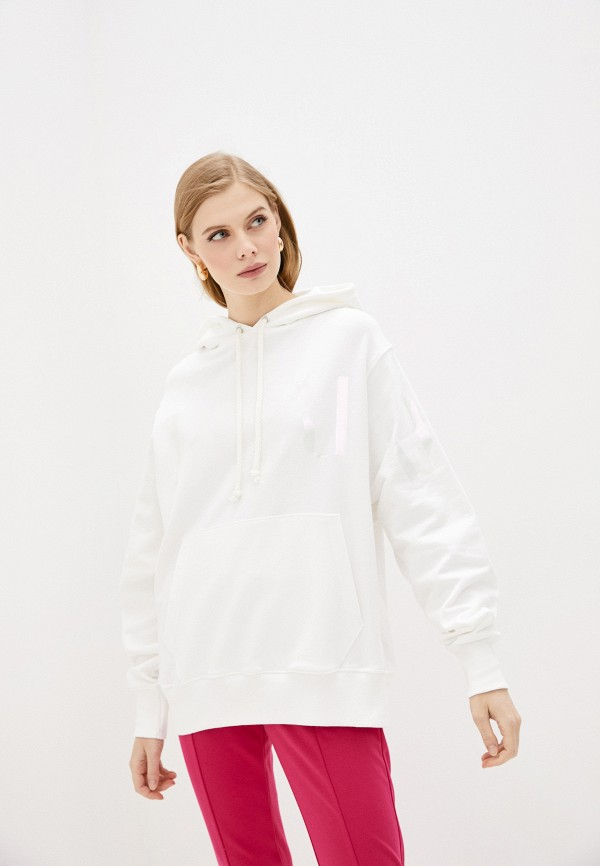 женские худи imperial, белые