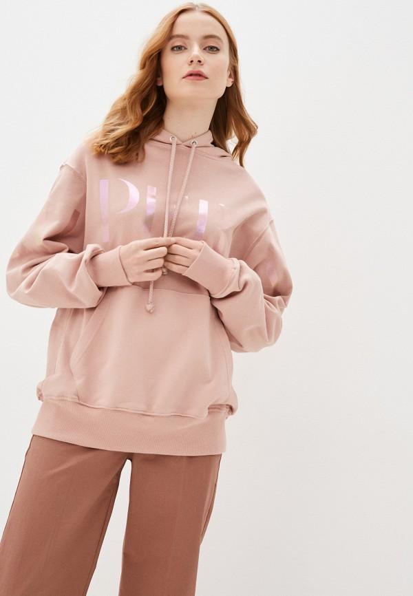 женские худи imperial, розовые