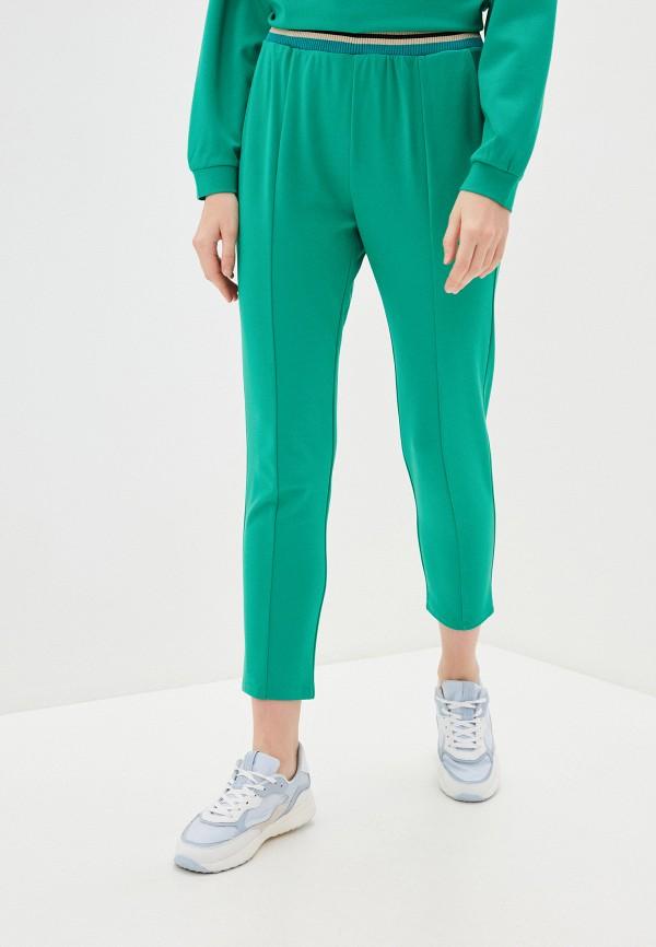женские повседневные брюки imperial, бирюзовые