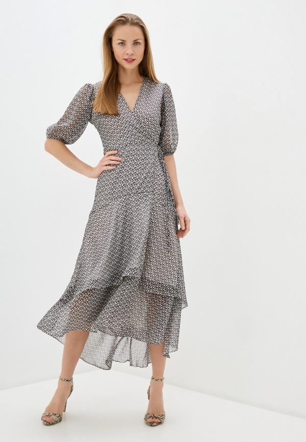 женское повседневные платье imperial, серое