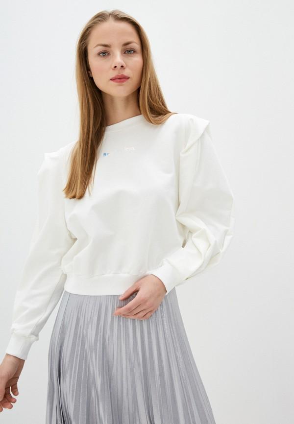 женский свитшот imperial, белый