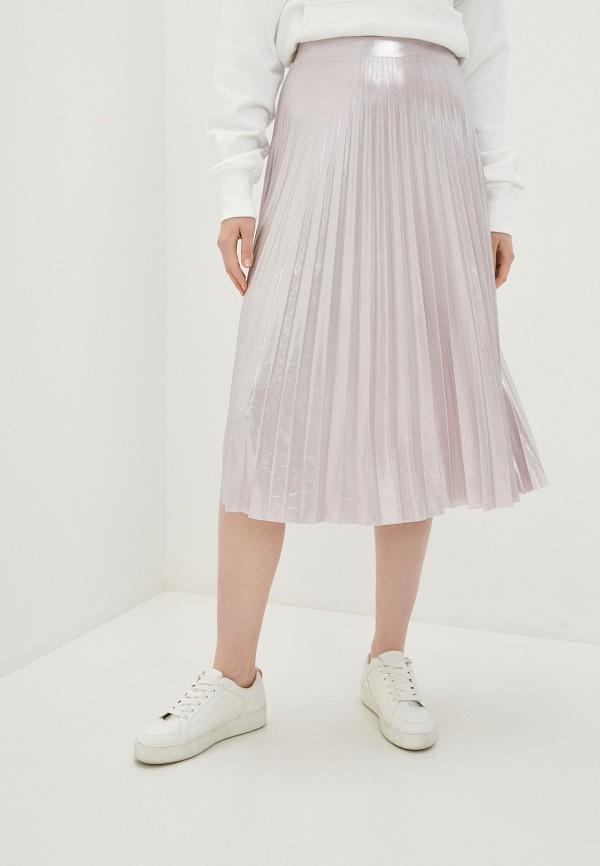 женская юбка imperial, розовая