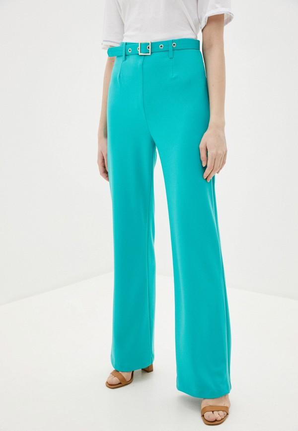 женские повседневные брюки imperial, голубые