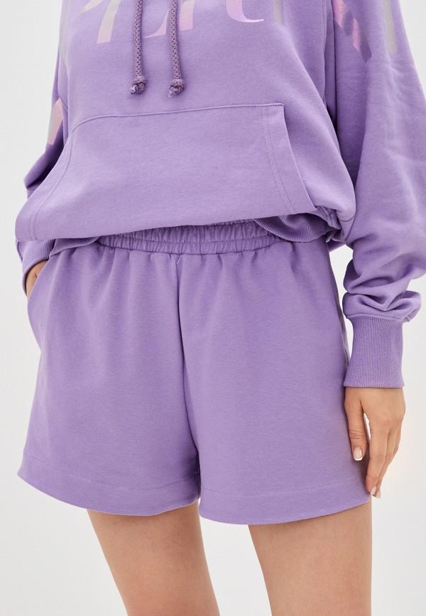 женские спортивные шорты imperial, фиолетовые