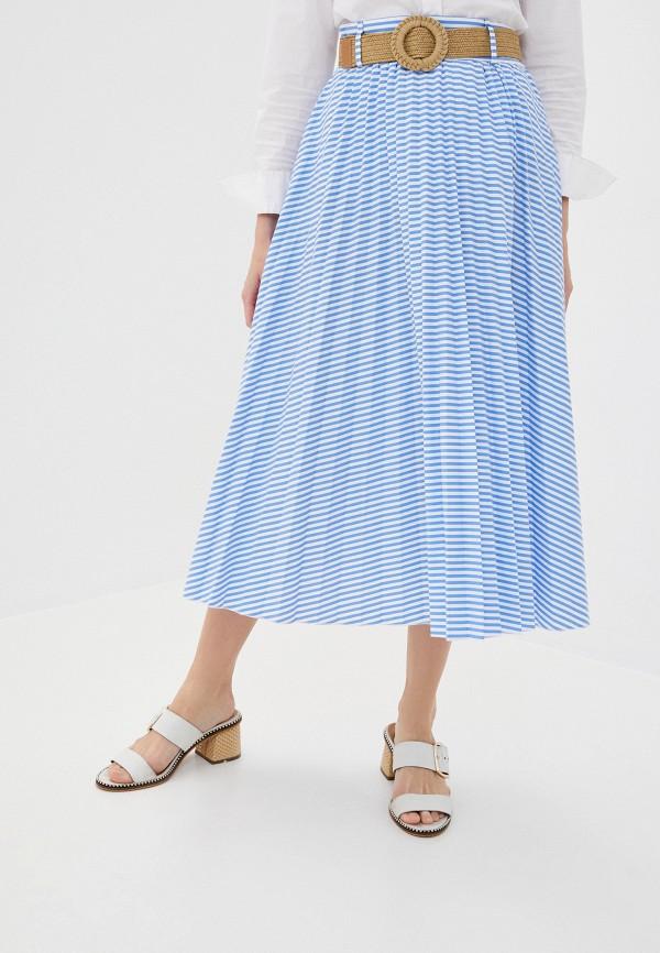 женская юбка imperial, голубая