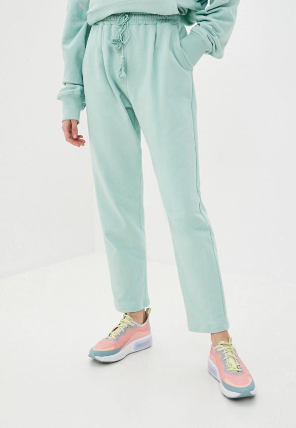женские брюки imperial, зеленые