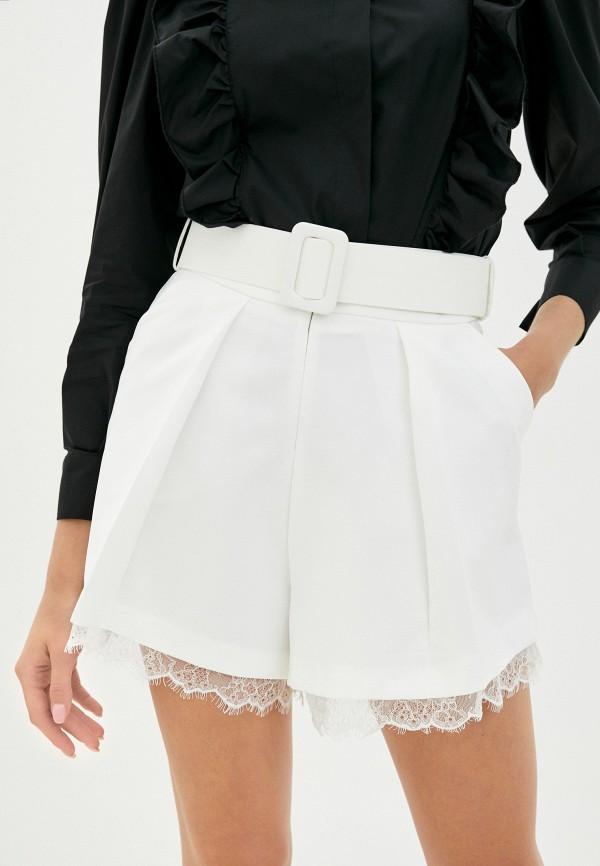 женские повседневные шорты imperial, белые