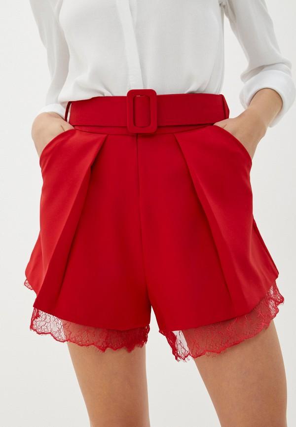 женские повседневные шорты imperial, красные