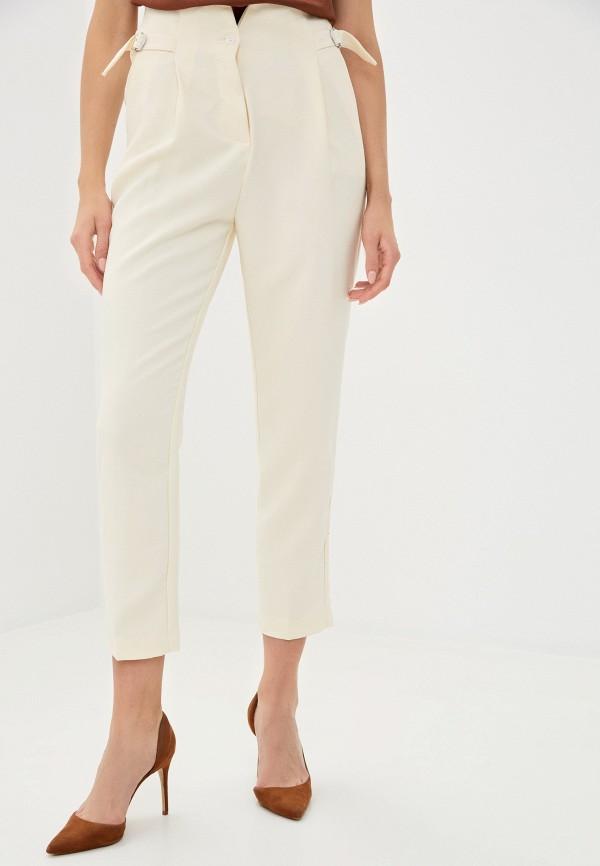 женские повседневные брюки imperial, бежевые