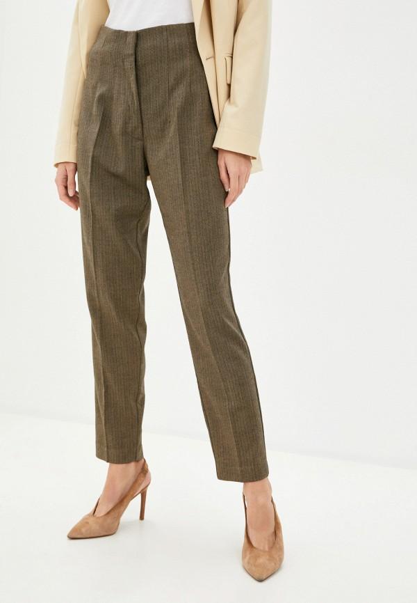 женские повседневные брюки imperial, хаки